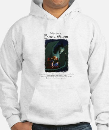 Advice from a Book Wyrm Hoodie