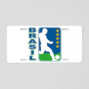 Brasil World Cup Soccer Aluminum License Plate