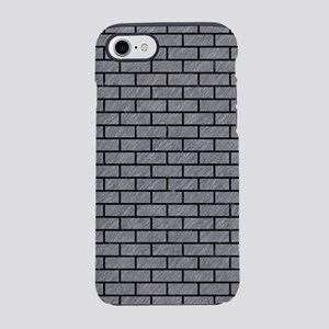 BRICK1 BLACK MARBLE & GRAY COL iPhone 7 Tough Case
