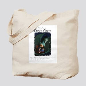 Advice from a Book Wyrm Tote Bag