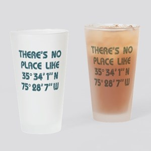 There's No Place Like the OBX Drinking Glass