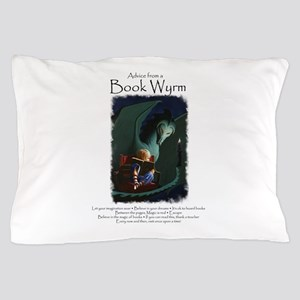 Advice from a Book Wyrm Pillow Case