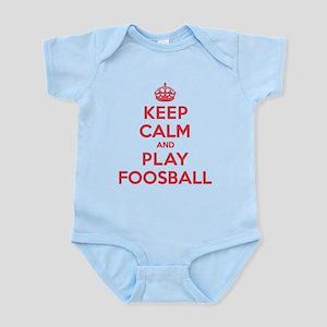 Keep Calm Play Foosball Infant Bodysuit