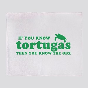 If You Know Tortugas Throw Blanket