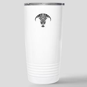 A.A. Logo Taurus B&W - Stainless Steel Travel Mug