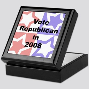 Vote Republican Keepsake Box