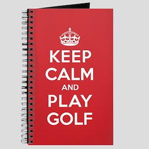 Keep Calm Play Golf Journal