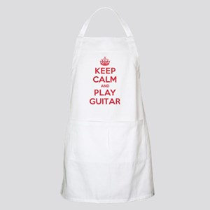 Keep Calm Play Guitar Apron