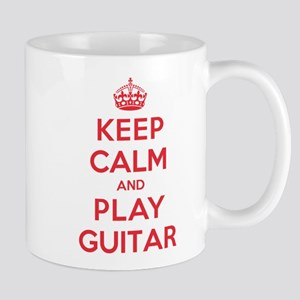 Keep Calm Play Guitar Mug