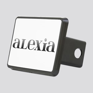 Alexia Carved Metal Rectangular Hitch Cover