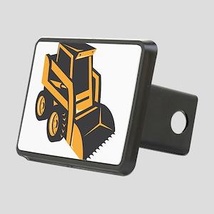 skid steer digger truck Rectangular Hitch Cover
