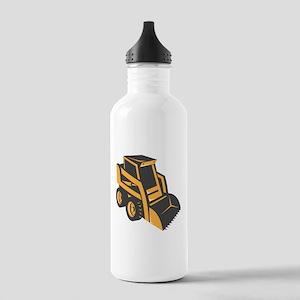 skid steer digger truck Stainless Water Bottle 1.0