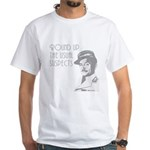 round up the usual suspects White T-Shirt