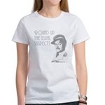 round up the usual suspects Women's T-Shirt