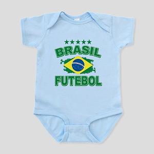 Brasil World Cup Soccer Infant Bodysuit