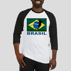 Brasil World Cup Soccer Baseball Jersey