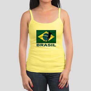Brasil World Cup Soccer Jr. Spaghetti Tank