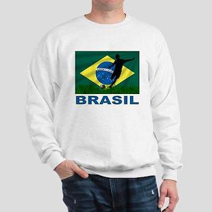 Brasil World Cup Soccer Sweatshirt