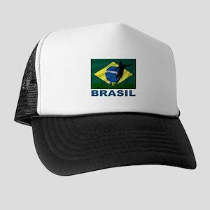 Brasil World Cup Soccer Trucker Hat