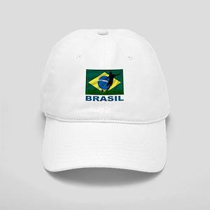 Brasil World Cup Soccer Cap