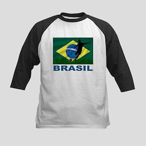Brasil World Cup Soccer Kids Baseball Jersey