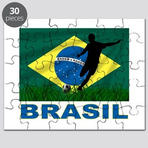 Brasil World Cup Soccer Puzzle