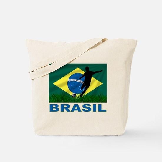 Brasil World Cup Soccer Tote Bag