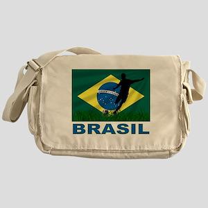 Brasil World Cup Soccer Messenger Bag