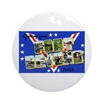 Fort Devens Massachusetts Ornament (Round)