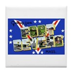 Fort Devens Massachusetts Tile Coaster