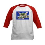 Fort Devens Massachusetts (Front) Kids Baseball Je