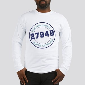 Southern Shores Zip Code Long Sleeve T-Shirt