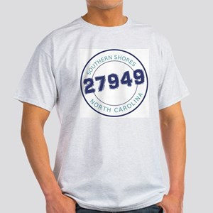 Southern Shores Zip Code Light T-Shirt