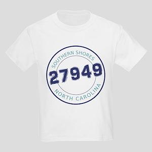 Southern Shores Zip Code Kids Light T-Shirt