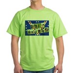 Fort Devens Massachusetts Green T-Shirt