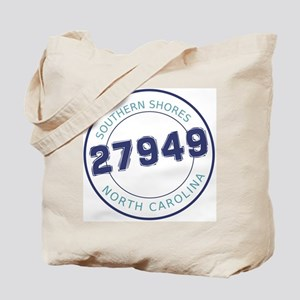 Southern Shores Zip Code Tote Bag