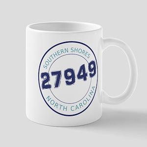 Southern Shores Zip Code Mug