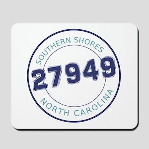 Southern Shores Zip Code Mousepad