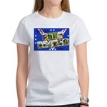 Fort Devens Massachusetts (Front) Women's T-Shirt