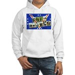 Fort Devens Massachusetts (Front) Hooded Sweatshir