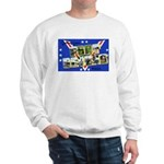 Fort Devens Massachusetts (Front) Sweatshirt