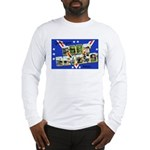 Fort Devens Massachusetts (Front) Long Sleeve T-Sh