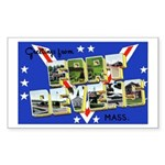 Fort Devens Massachusetts Rectangle Sticker
