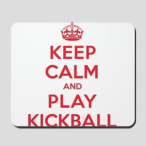 Keep Calm Play Kickball Mousepad