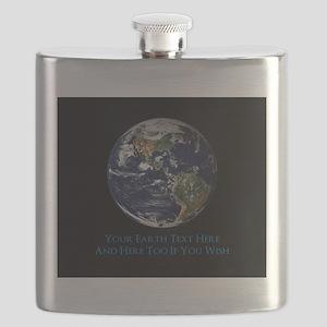 Customized Amazing Epic Earth Flask