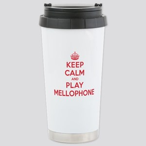 Keep Calm Play Mellophone Stainless Steel Travel M