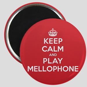 Keep Calm Play Mellophone Magnet