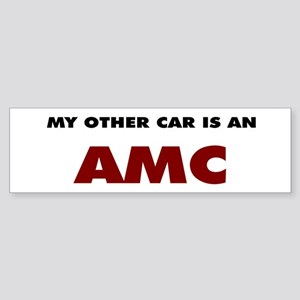 Other Car is an AMC Sticker (Bumper)