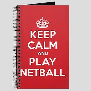 Keep Calm Play Netball Journal