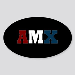 AMC AMX Sticker (Oval)